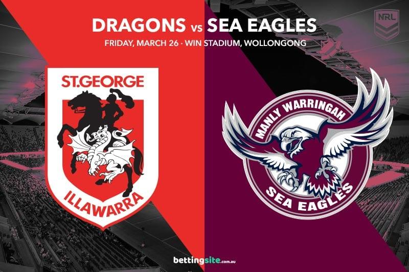 St George Illawarra Dragons vs Manly Sea Eagles