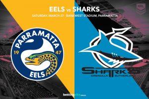 Parramatta Eels vs Cronulla Sharks