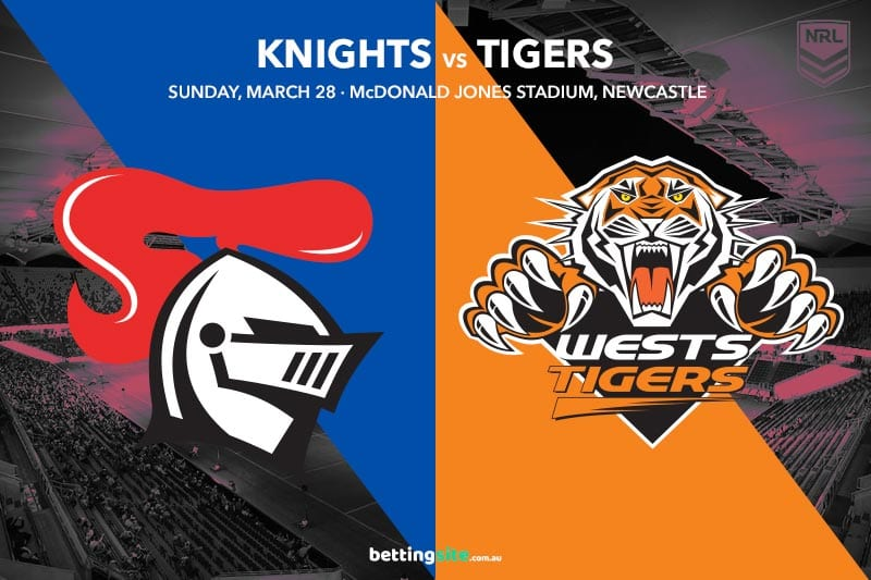 Newcastle Knights vs Wests Tigers