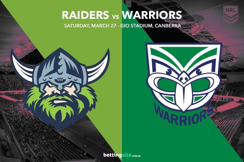 Canberra Raiders vs NZ Warriors