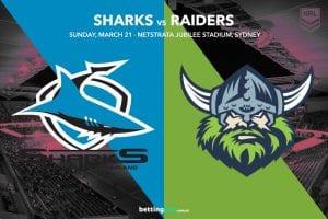 Cronulla Sharks vs Canberra Raiders
