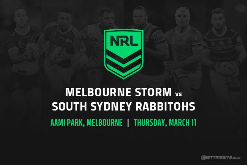Melbourne Storm vs South Sydney Rabbitohs