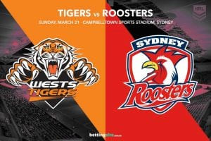 Wests Tigers vs Sydney Roosters