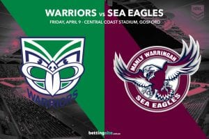 NZ Warriors vs Manly Sea Eagles