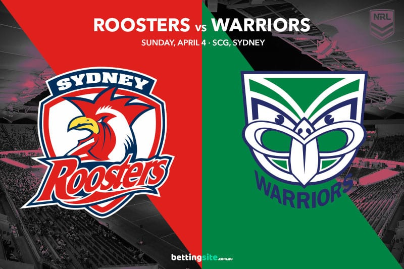 Roosters Warriors NRL betting tips