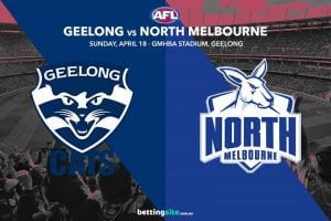 Cats vs Kangaroos AFL tips
