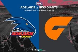 Adelaide GWS AFL 2021 tips