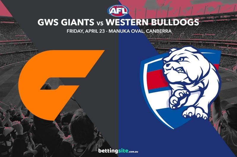 Giants Bulldogs AFL 2021 tips