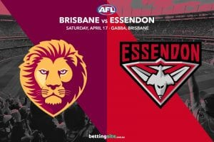 Lions Bombers AFL betting tips