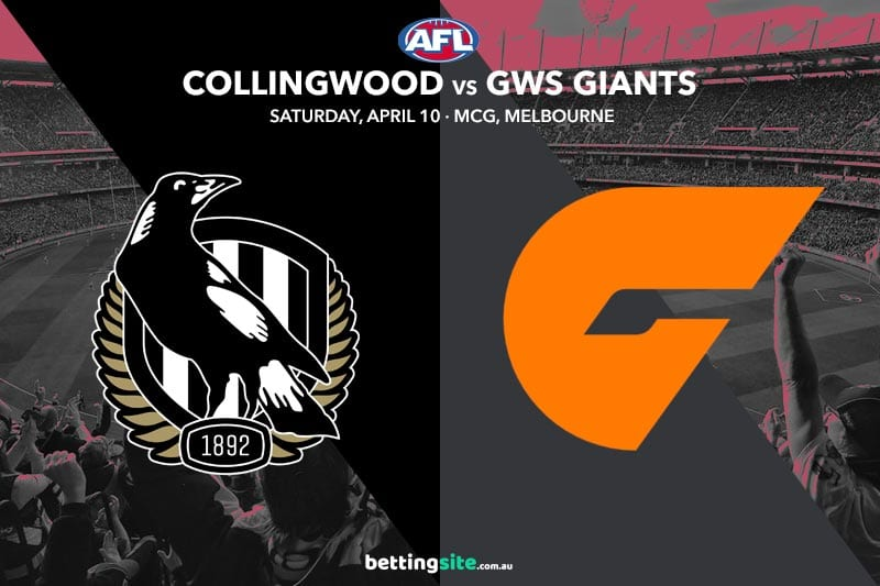 Magpies Giants AFL 2021 betting tips
