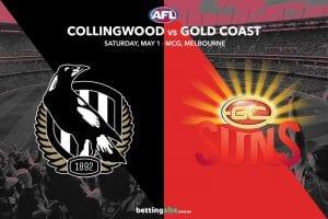 Magpies vs Suns AFL tips