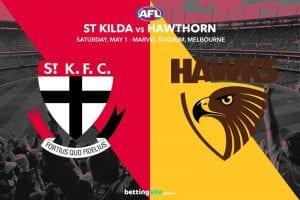 Saints Hawks AFL tips