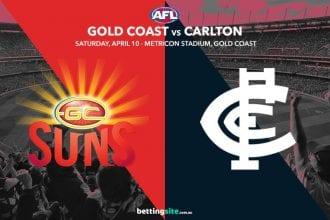 Suns Blues AFL 2021 betting tips