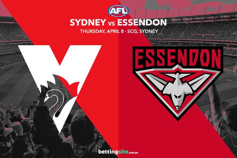 Swans Bombers AFL 2021 betting tips