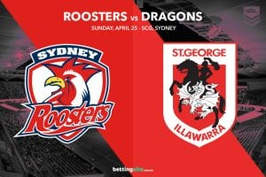 Sydney Roosters vs St George Illawarra Dragons