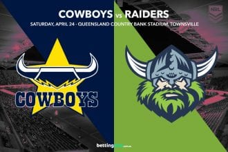 North Queensland Cowboys vs Canberra Raiders