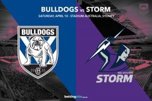 Canterbury Bulldogs vs Melbourne Storm