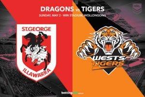 SGI Dragons vs Wests Tigers