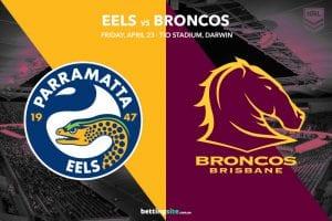 Parramatta Eels vs Brisbane Broncos