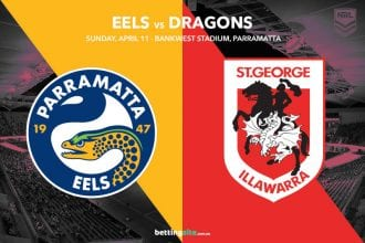Parramatta Eels vs St George Illawarra Dragons