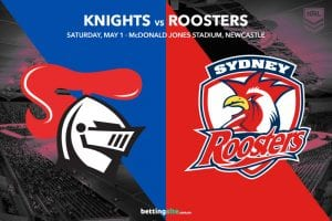 Newcastle Knights vs Sydney Roosters