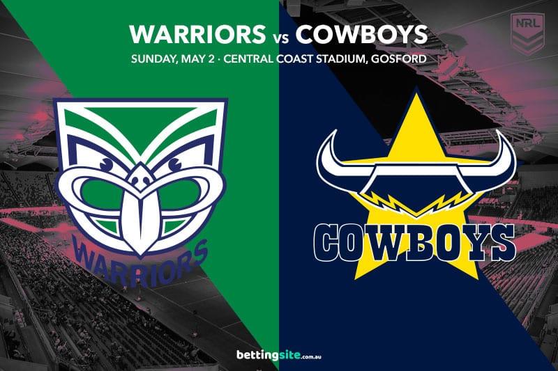 NZ Warriors vs Nth Queensland Cowboys