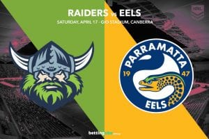 Raiders Eels NRL betting tips