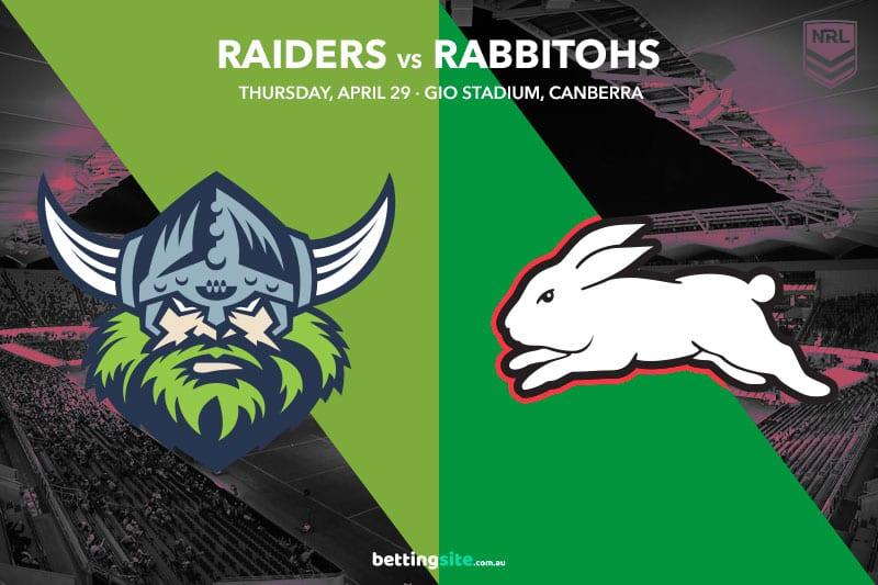 Canberra Raiders vs South Sydney Rabbitohs