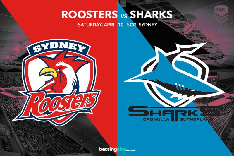 Roosters Sharks NRL 2021 betting tips