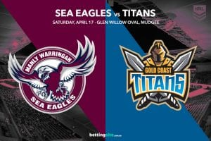 Manly Sea Eagles vs Gold Coast Titans