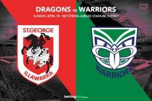 St George Illawarra Dragons vs NZ Warriors