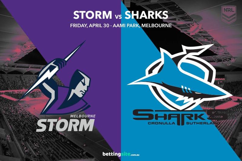 Melbourne Storm vs Cronulla Sharks