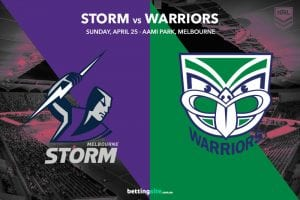 Melbourne Storm vs NZ Warriors