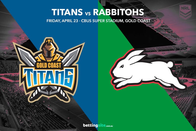 Gold Coast Titans vs South Sydney Rabbitohs