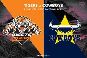 Wests Tigers vs North Queensland Cowboys