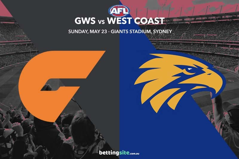 GWS v West Coast best bets and tips - AFL round 10 preview