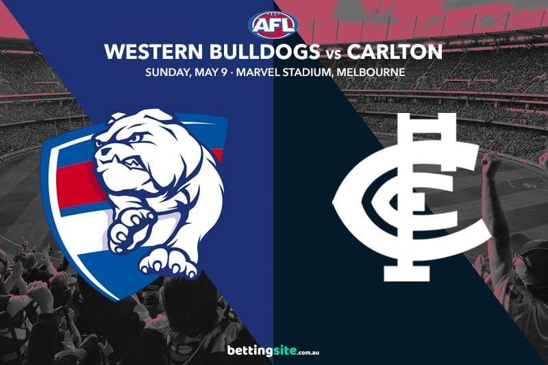 Bulldogs Blues AFL 2021 tips