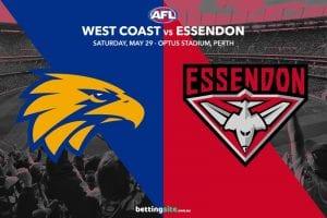 Eagles Bombers AFL tips