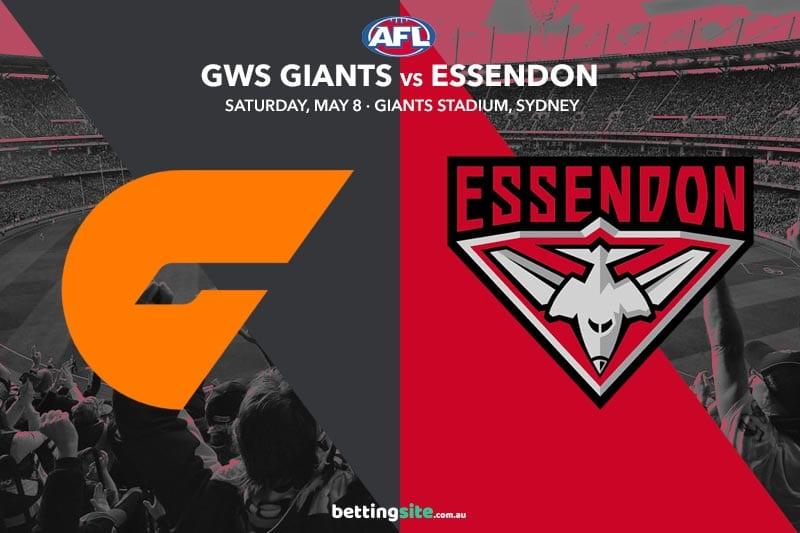 Giants Bombers AFL tips