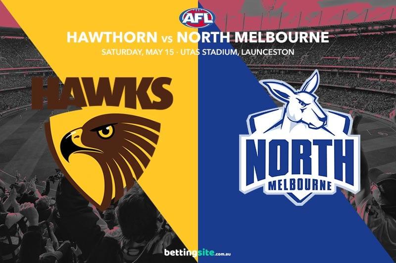 Hawks Kangaroos AFL tips