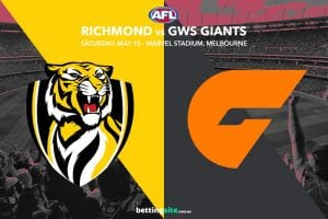 Tigers Giants AFL tips