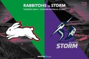 South Sydney Rabbitohs vs Melbourne Storm