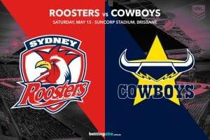 Sydney Roosters vs North Queensland Cowboys