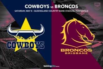 North Queensland Cowboys vs Brisbane Broncos