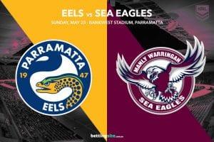 Parramatta Eels vs Manly Sea Eagles