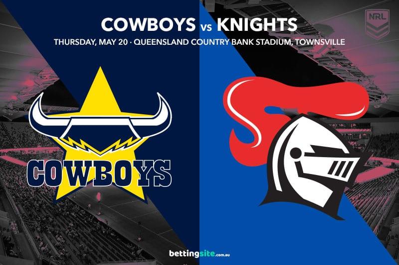 North Queensland Cowboys vs Newcastle Knights