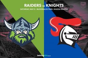 Canberra Raiders vs Newcastle Knights