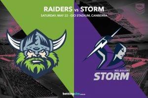 Canberra Raiders vs Melbourne Storm