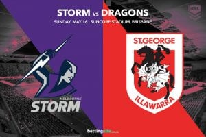 Melbourne Storm vs St George Illawarra Dragons