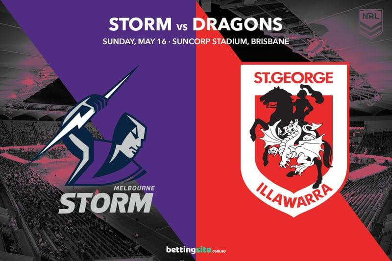 Melbourne Storm vs St George Illawarra Dragons